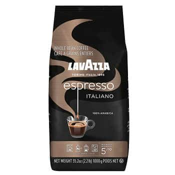 Lavazza Caffé Espresso Whole Bean, 2.2 lbs @ Costco IN STORE ONLY - $9.99