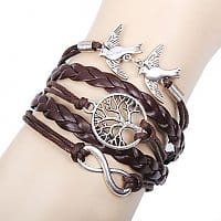 Mini In The Box Deal: 40% Off Life Tree Infinite Bird Bracelet - $1.50 + Free Shipping