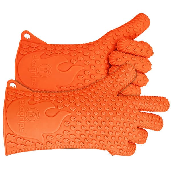 Long Ekogrips Max Heat Silicone BBQ Gloves $19.99, Free Shipping