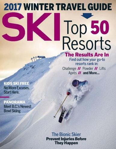 Magazine Sale: Ski - $4.99/Yr, Snowboard - $4.99/yr