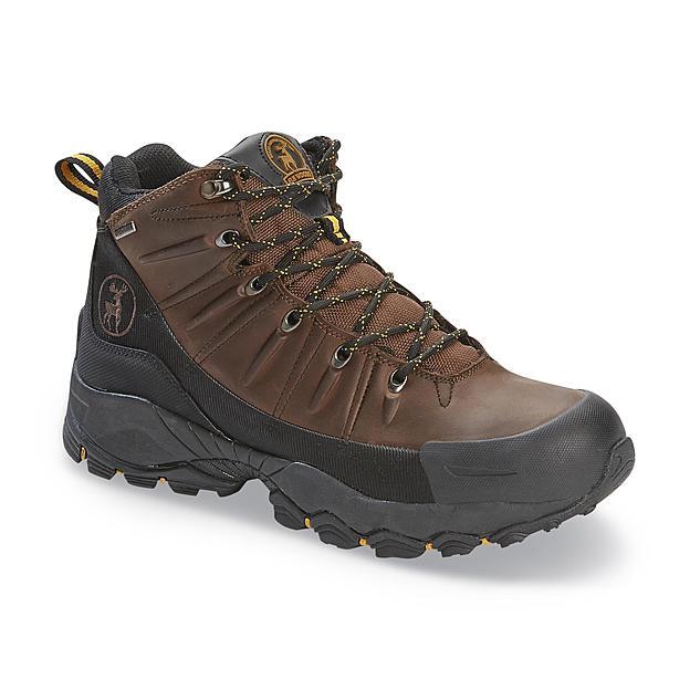Elk Woods Men's Brown/Black Waterproof Work Boot $39.99, Free store pickup