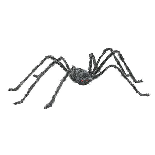 "Totally Ghoul 50"" Giant Posable Spider - Gray - $7.49, Free Store Pickup $6.74"