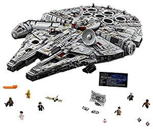 LEGO Star Wars Millennium Falcon 75192 Building Kit $799.99 Plus Tax Preorder