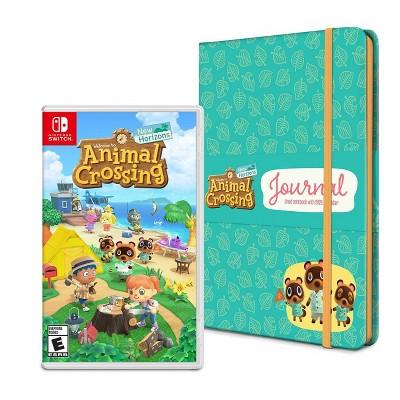 Animal Crossing New Horizons Nintendo Switch Journal Bundle