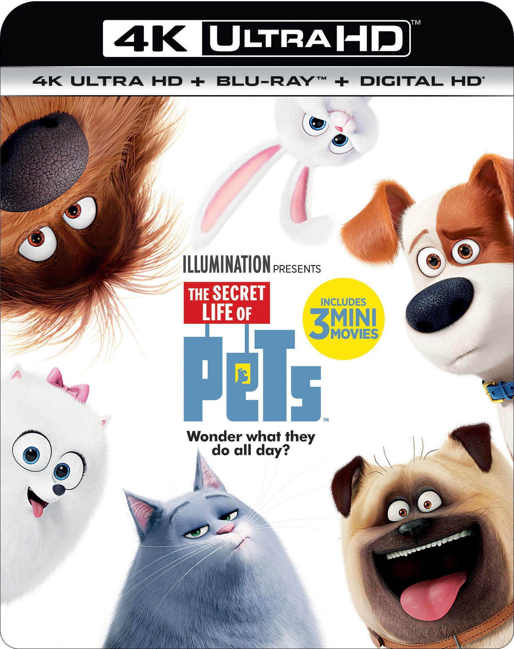 The Secret Life of Pets (4K Ultra HD + Blu-ray + Digital) $9.89 + Free Shipping @ Gruv