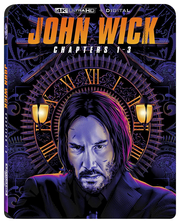 John Wick: Chapters 1-3 (4K Ultra HD + Digital) $20.33 @ Amazon