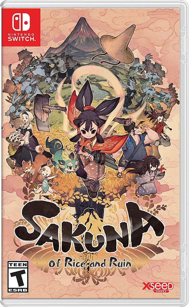 Sakuna: Of Rice and Ruin (Nintendo Switch) $29.99 @ Walmart & Amazon