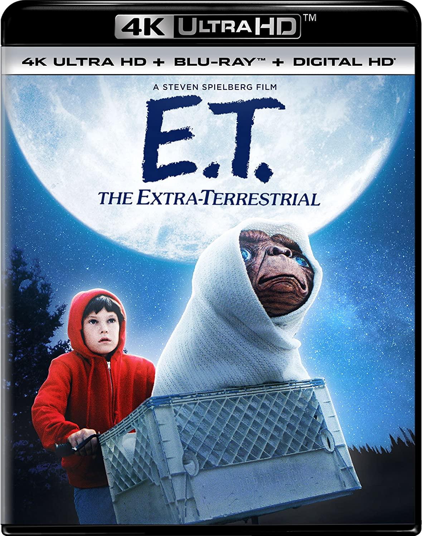 Prime Members: E.T. The Extra-Terrestrial (4K UHD + Blu-ray + Digital) $9.99, Smokey and the Bandit (4K UHD + Blu-ray + Digital) $10.99 & More + Free Shipping