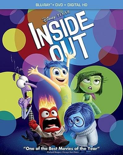 Disney: Inside Out (Blu-ray + DVD + Digital) or Star Wars: Episode VIII: The Last Jedi (Blu-ray + Digital) $5.38 Each @ Deep Discount