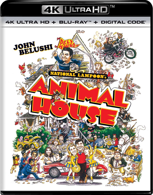 National Lampoon's Animal House (4K UHD + Blu-ray + Digital) $9.83 + Free Shipping