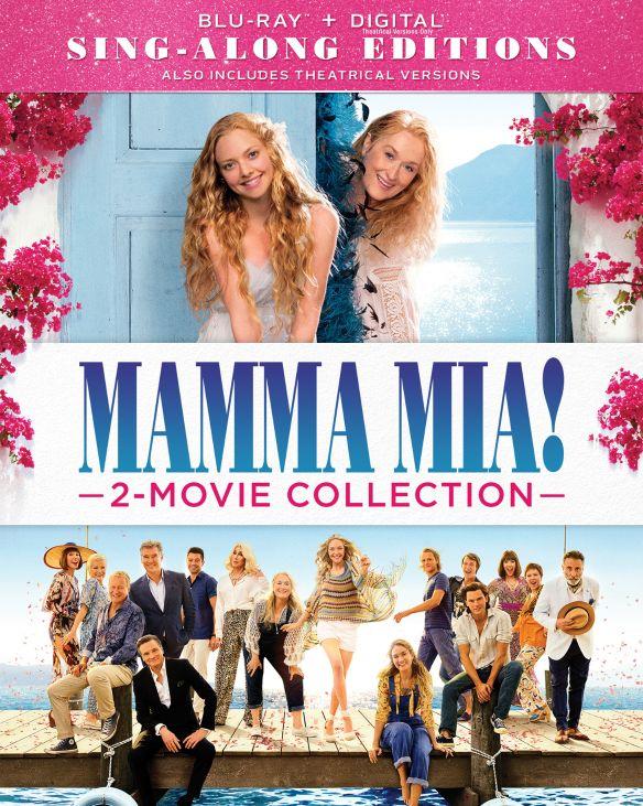 Mamma Mia! 2-Movie Collection (Blu-ray + Digital) $7.50 @ Amazon