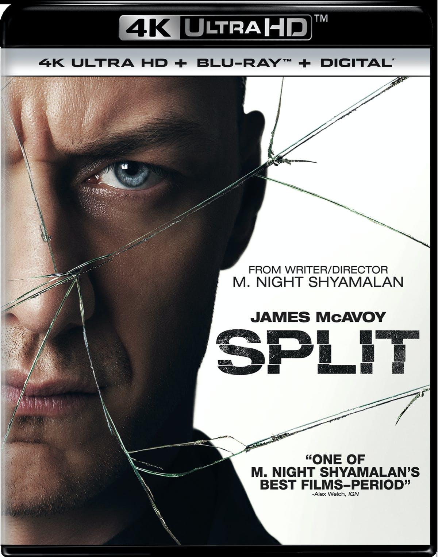 Split or Glass (4K UHD + Blu-ray + Digital) $8.79 Each + Free Shipping