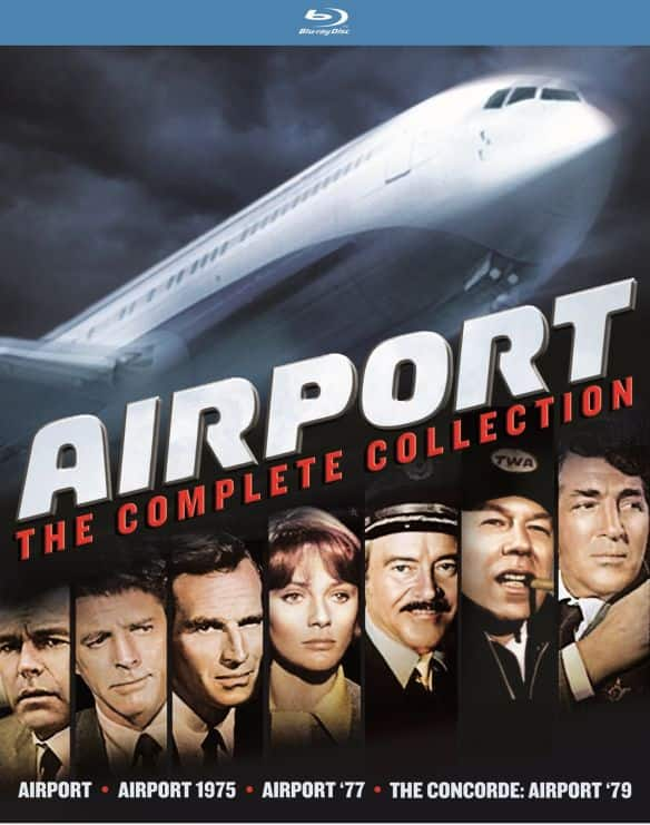 Airport: The Complete Collection (Blu-ray) $11.99 + Free Shipping