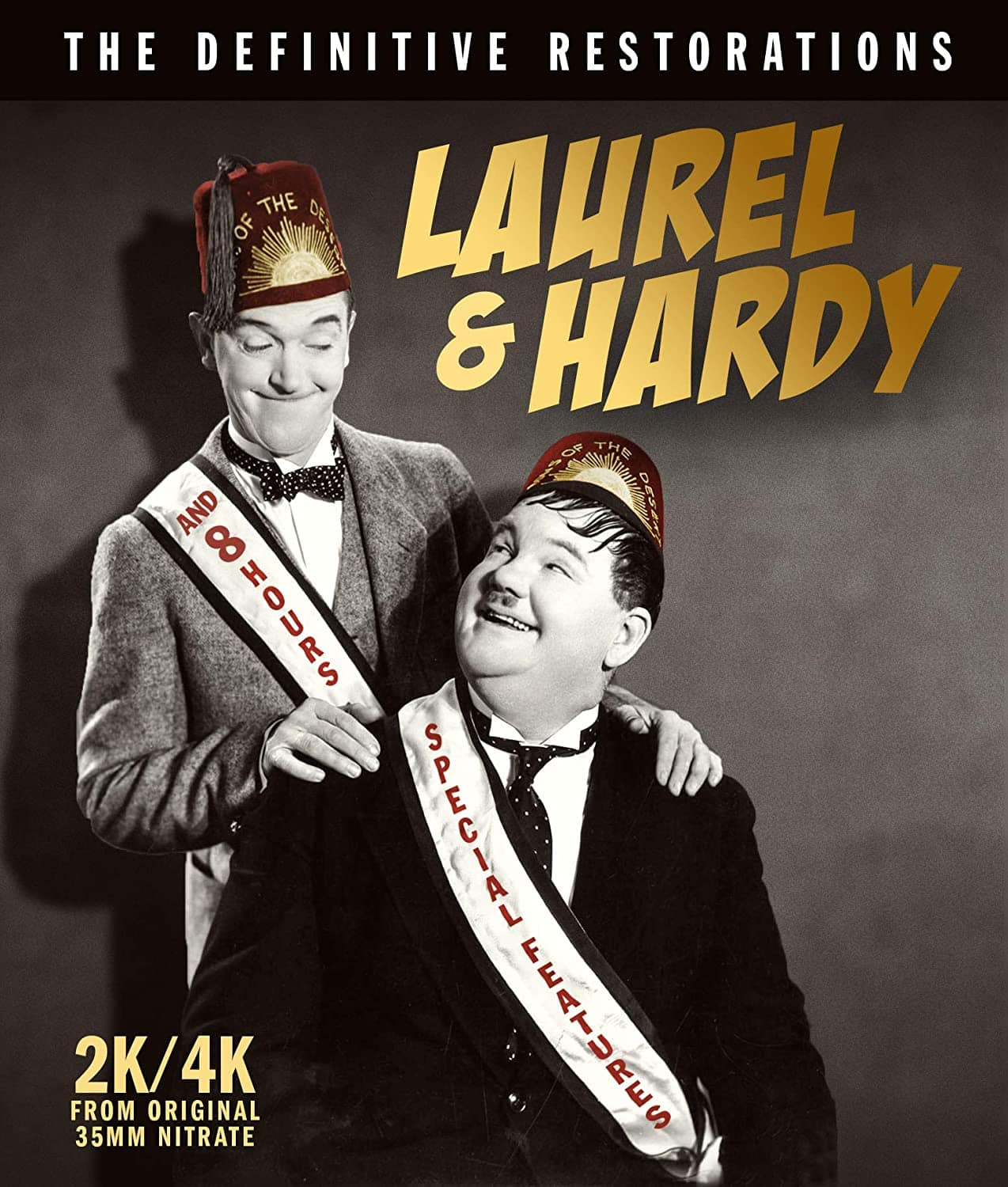 Laurel & Hardy: The Definitive Restorations (Blu-ray) $30.59 + Free Shipping
