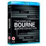 The Complete Bourne 4 Movie Collection [Blu-ray] $18.56 Shipped
