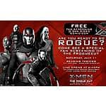 Free Fan Screening of X-Men: Days of Future Past the Rogue Cut Tickets (San Diego Only No Comic-Con Badge Required B&M)