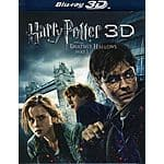 Harry Potter & the Deathly Hallows Part 1 (Blu-ray 3D, Blu-ray, DVD & Digital Copy)  $7