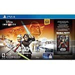Disney Infinity 3.0 Edition: Star Wars Saga Bundle (PS4 or PS3) $89.99 or $71.99 w/ GCU @ Best Buy 9/27-10/3