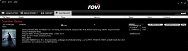 Free Dark Knight Rises UltraViolet Digital Copy YMMV