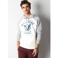 American Eagle Outfitters Deal: AEO Men's Signature Raglan Hooded Pop Over
