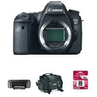 RitzCamera Deal: Canon EOS 6D DSLR (Body Only) + Pro-10 Printer + Goodies
