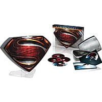 Amazon Deal: Man of Steel Collector's Edition (Blu-ray 3D + Blu-ray + DVD + Digital HD) $10 Shipped