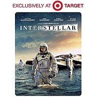 Target Deal: Interstellar Collector's Edition (2-Disc Blu-ray+DVD+Digital HD+NEO-Pack) $22.96 @ Walmart or Interstellar (2-Disc Blu-ray+DVD+Digital Copy) (SteelBook) $19.99 @ Target 3/29-4/4