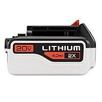 Amazon Deal: Black & Decker 20-volt 4.0 Ah Lithium Battery Pack
