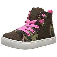 Amazon Deal: Carter's Avery Sneaker (Toddler, Camo/Neon Pink)