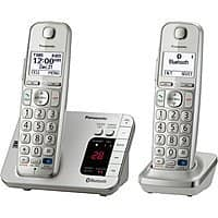 BuyDig Deal: Panasonic DECT 6.0 Bluetooth Enabled Phone w/ Answering Machine & 2 Handsets