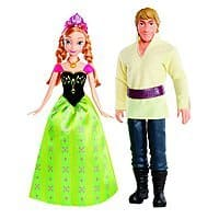 Amazon Deal: 2-Pack Disney Frozen Anna and Kristoff Doll