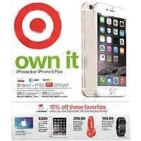 Target Deal: Apple iPad Air 2 16GB Wi-Fi (Silver or Gold) $359 w/ Cartwheel App @ Target 7/5 - 7/11