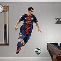 Fathead Deal: Fathead Wall Decals: Additional 50-60% Off Sitewide: Lionel Messi Wall Decal