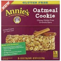 Amazon Deal: 5-Ct of 1oz. Annie's Gluten Free Granola Bars (Oatmeal Cookie)