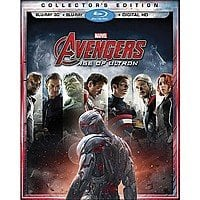 Avengers: Age of Ultron [Includes Digital Copy] [3D] [Blu-ray] $18 at Target, with 10% Cartwheel & 5% RedCard = $15.39!!!