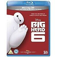 Amazon (UK) Deal: Amazon UK: Buy One Get One Free Disney Blu-ray 3Ds (Includes Big Hero 6 3D) - 2 3D movies $34.86 Shipped