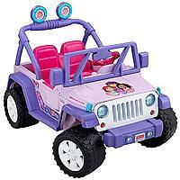 Walmart Deal: Fisher-Price Power Wheels Dora & Friends Jeep Wrangler Battery Powered Ride-On