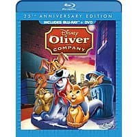 Amazon Deal: Oliver & Company: 25th Anniversary Edition (Blu-ray/ DVD Combo Pack) $9.96 @ Amazon