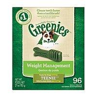 96-Ct Greenies Weight Management Dental Dog Treats (5-15lb dogs)