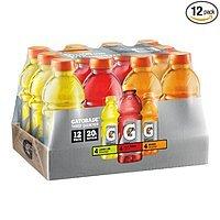 12-Pack of 20oz Gatorade Original Thirst Quencher Bottles (Variety Pack)