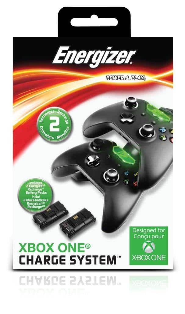 Microsoft licensed Energizer 2X Charging System for Xbox One $19.99