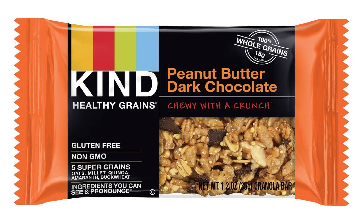 15-Ct KIND Healthy Grains Granola Bars (Various Flavors)  $6.50 + Free Shipping