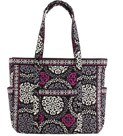 Vera Bradley Get Carried Away Tote (Canterberry Magenta)  $8.40 & More + Free Shipping