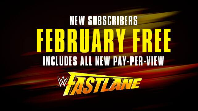 WWE network free for month of February 2015