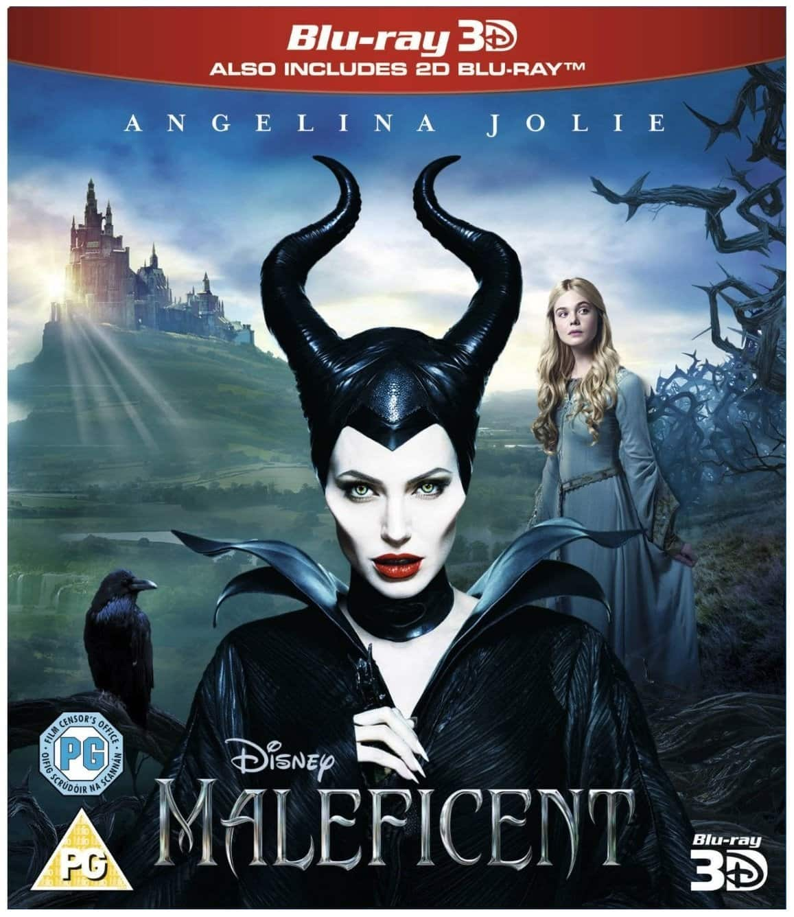 Two Select Disney 3D Blu-rays (Region Free): Maleficent, Frozen, The Lion King  $32 & More