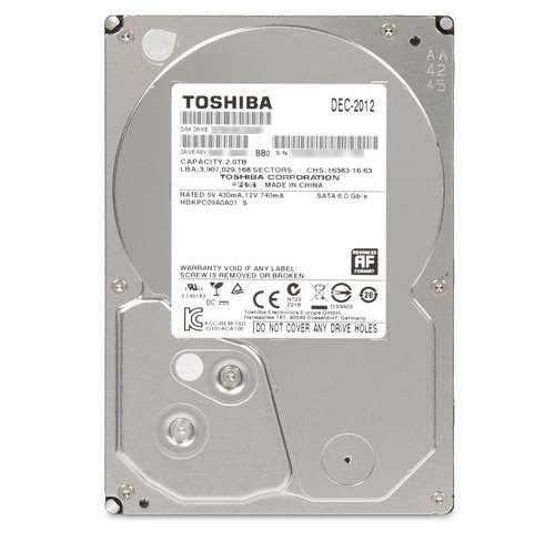 "2TB Toshiba 3.5"" Internal Hard Drive  $65 + Free Shipping"
