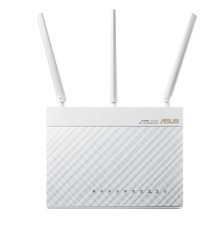 Asus RT-AC68W AC1900 Wireless-AC1900 Dual-Band Gigabit Router - $139.99 FS/AC - Newegg