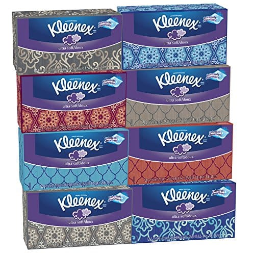 8-Pack of 120-Count Kleenex Ultra Soft Facial Tissues $9.32 or Less (Prime Membes Only) + Free Shipping Amazon.com