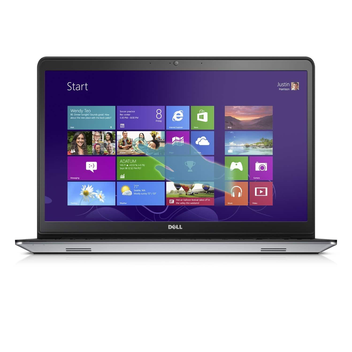 """Dell Inspiron 15 5000 Touch Laptop: i5 4210U, 12GB, 1TB HDD, 15.6"""" 1080p IPS  $500 + Free Shipping"""