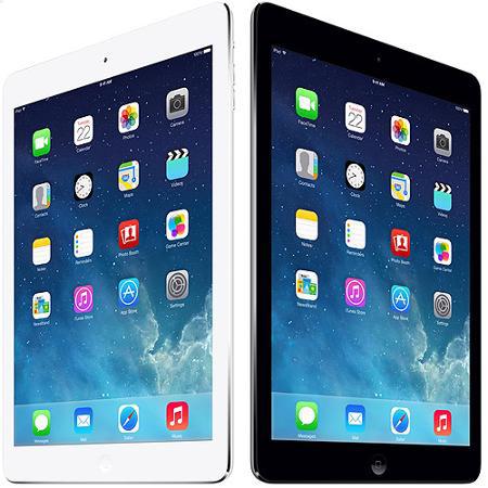 16GB Apple iPad Air Wi-Fi + Verizon 4G LTE (Silver or Gray)  $319 + Free Shipping